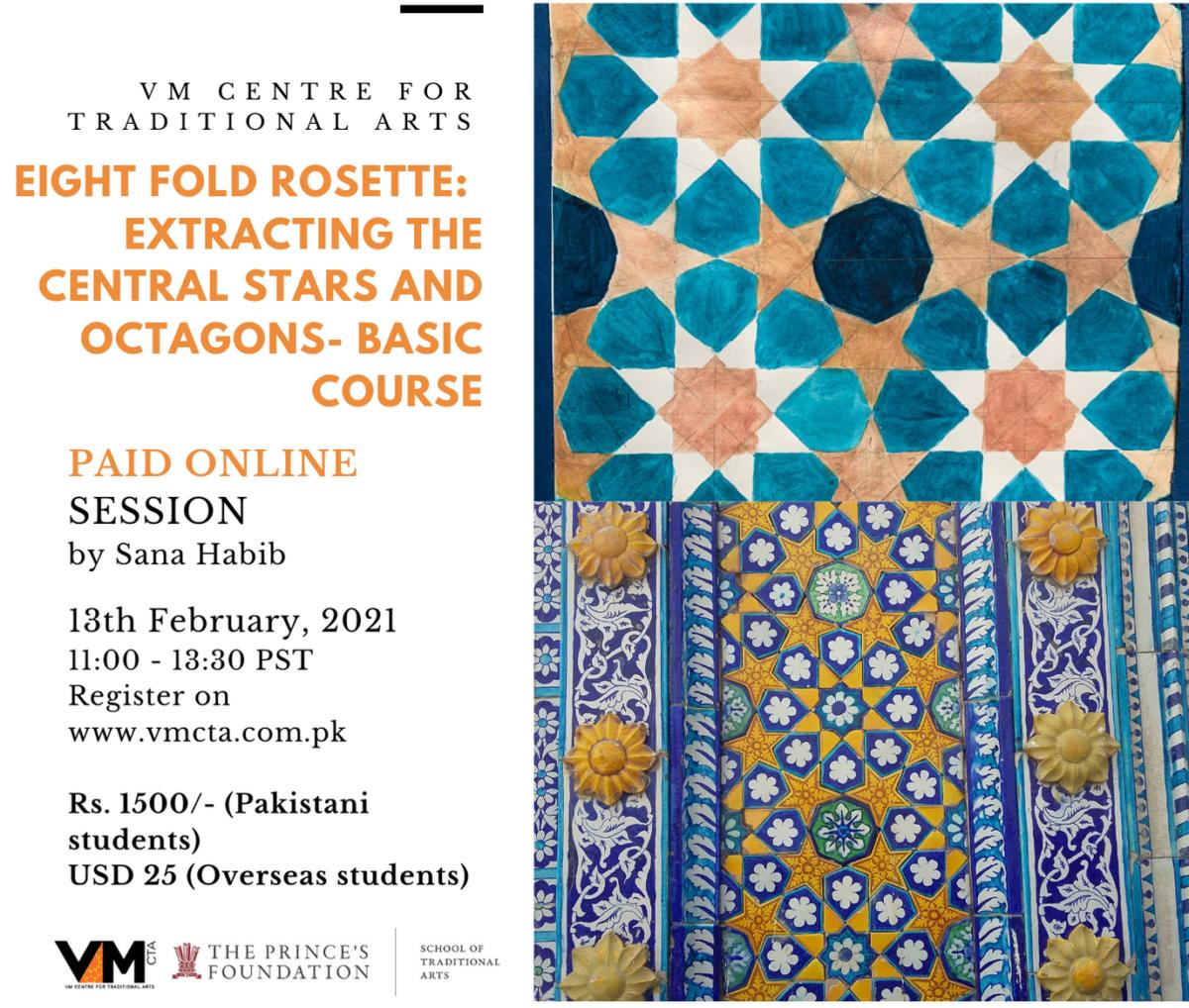 Eight Fold Rosette 13 Feb 2021